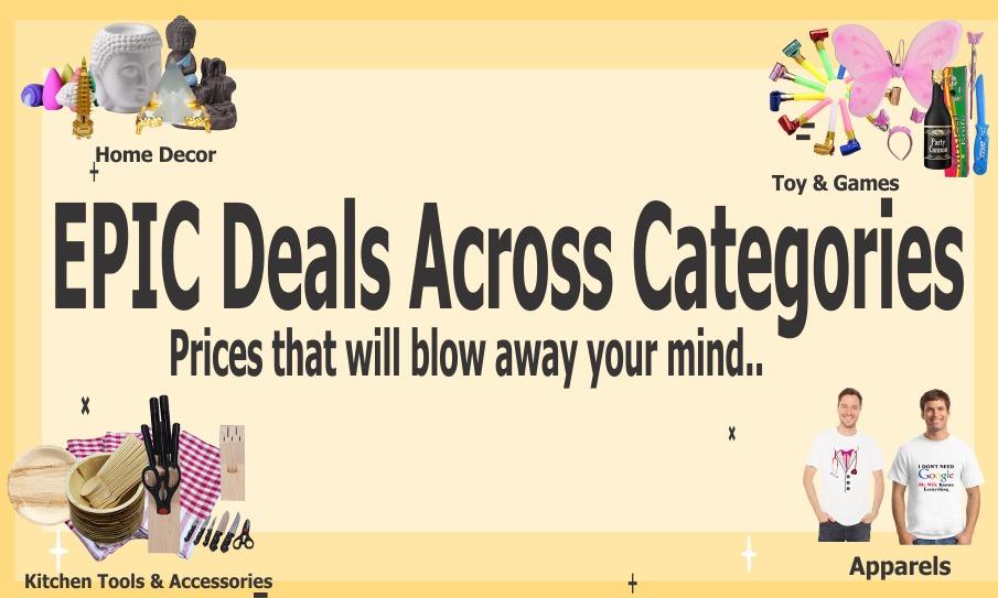 23x - Epic Deals Across Categories