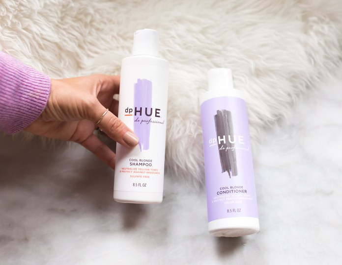 DpHUE Cool Blonde Purple Shampoo