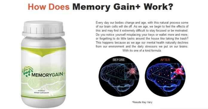 Memory Gain+