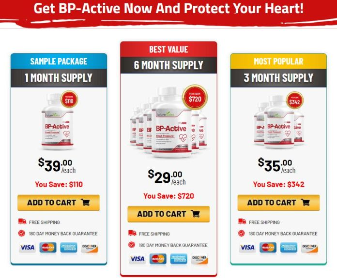 BP-Active Blood Pressure Future Nutra