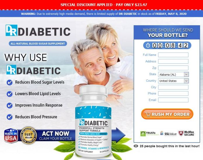DR Diabetic Blood Sugar Supplement