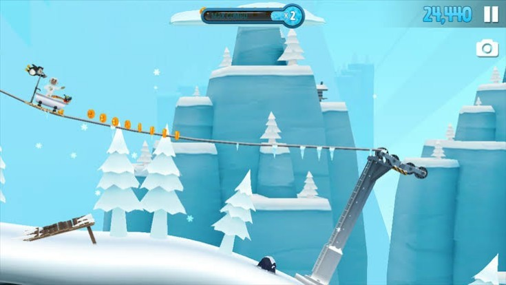 Ski Safari 2  Best Arcade Games for Android