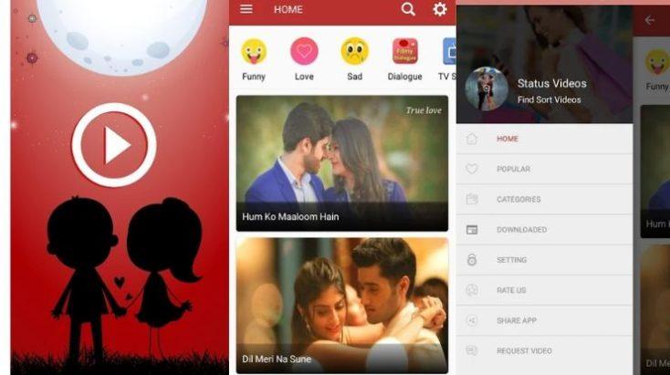 All Latest Status Video, Best WhatsApp status Download Apps