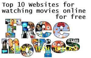 watching movies online for free