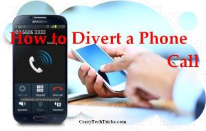 How to Divert a Phone Call
