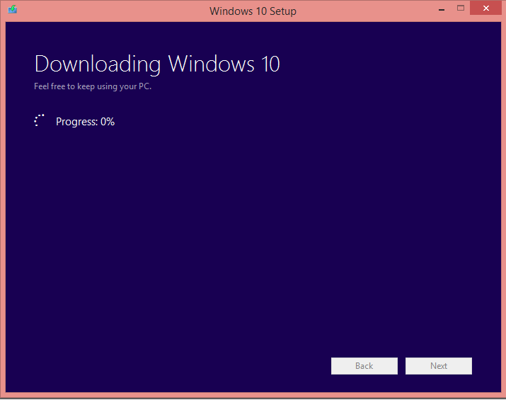Download Windows 10 and Install