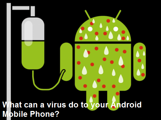 What can a virus do to your Android Mobile Phone