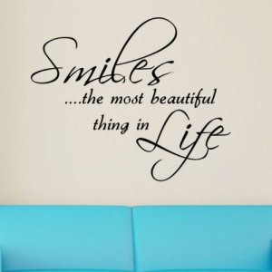 smile-smile is most beautiful thing in life