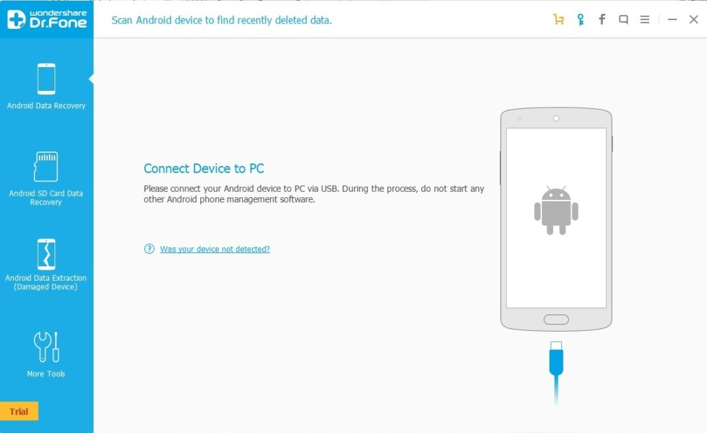 connect your Android phone through USB to PC/Laptop