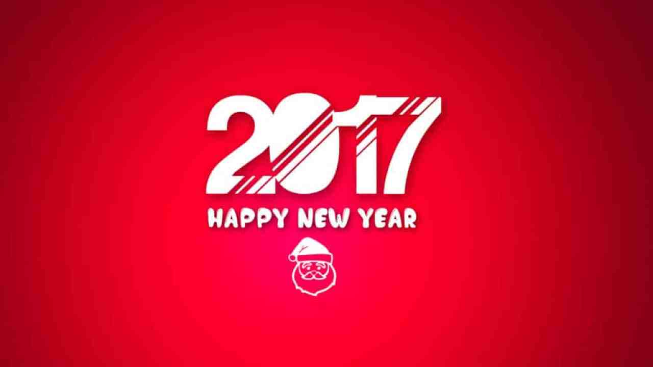 Happy New Year 2017 for family & friends