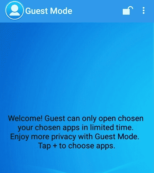 guest mode android-open guest mode
