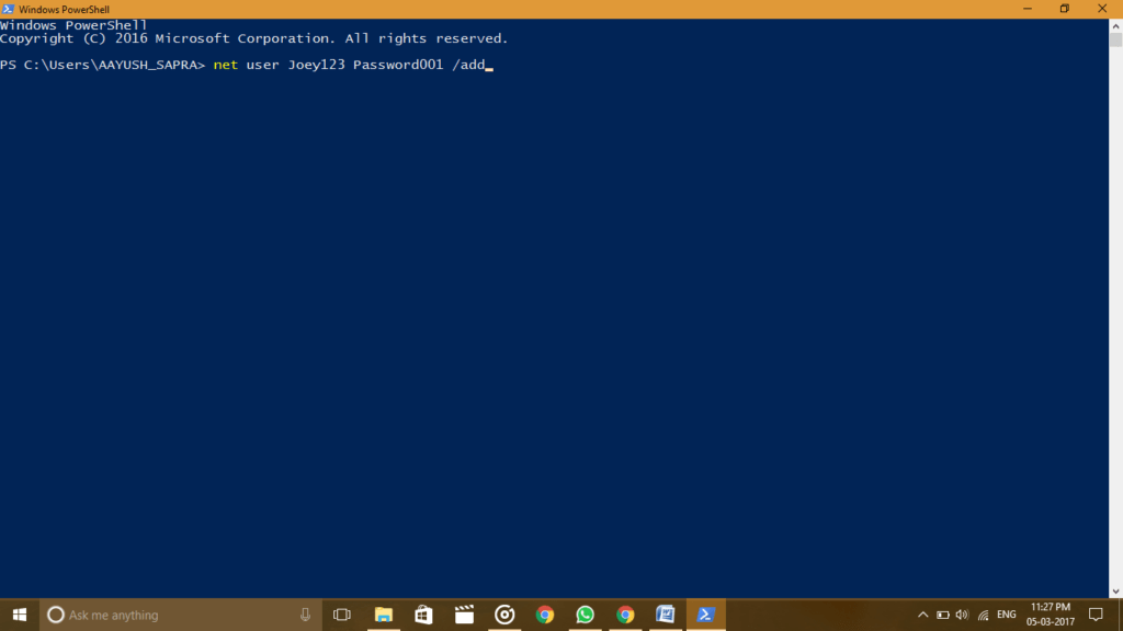 Resolve Windows 10 Start Menu not Working 2017 by creating new account