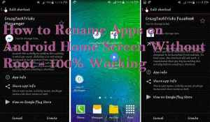 How to Rename Apps on Android Home Screen Without Root – 100% Working
