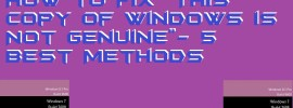 """How to Fix """"This copy of Windows is Not Genuine""""- 5 Best Methods"""