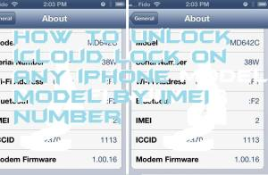 How to Unlock iCloud Lock on any iPhone model by IMEI Number