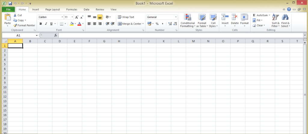 Open Microsoft Excel on your Laptop-PC - How to Make a Spreadsheet in Excel 2016, 2013 & 2007 Create in 5 Steps