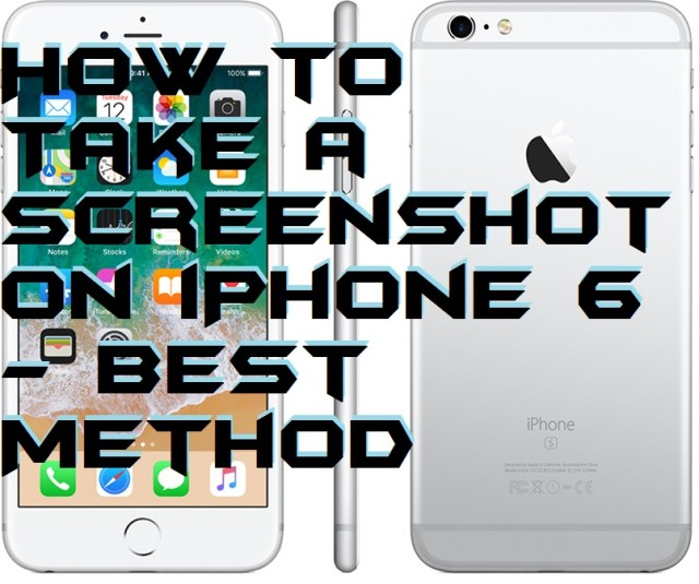 How to Take a Screenshot on iPhone 6 - Best Method