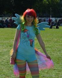 My Little Pony Fans sind überall: Rainbow Dash ^^