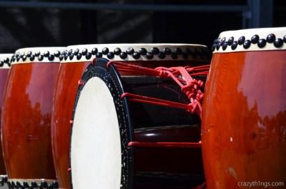 Die Trommeln von Amaterasu Taiko