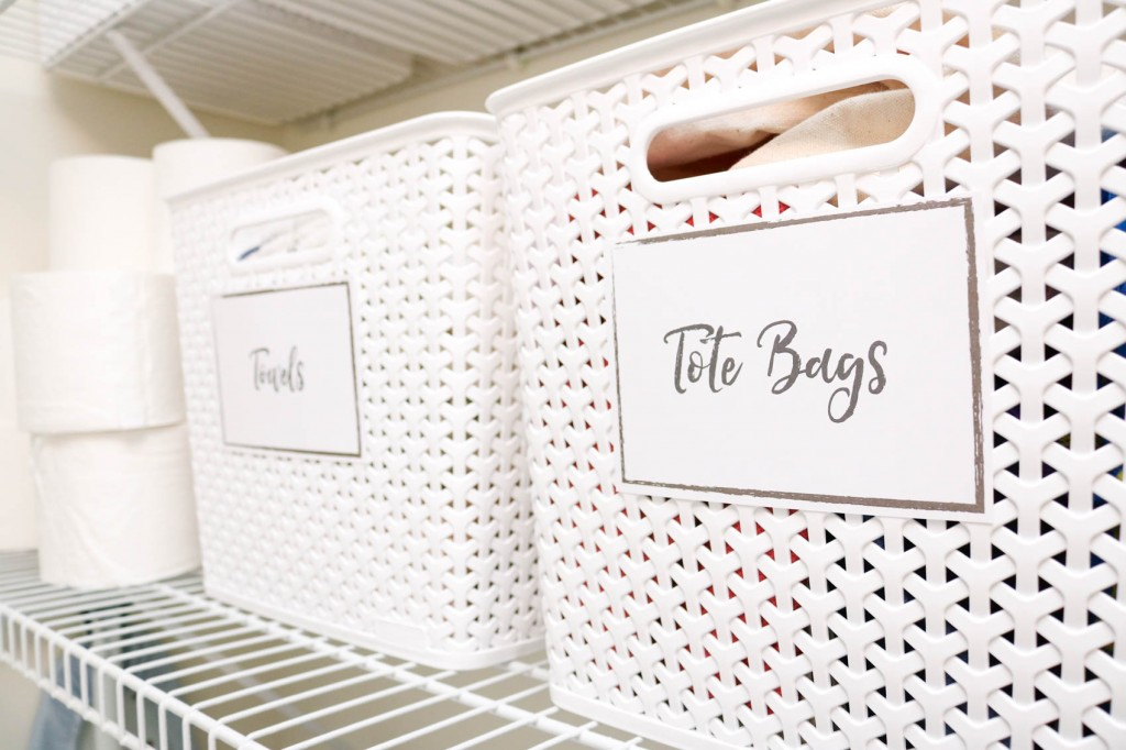 Easy As Pie Laundry Room Organization