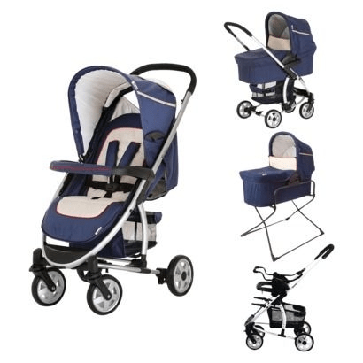 Hauck Malibu All In One Travel System - Navy