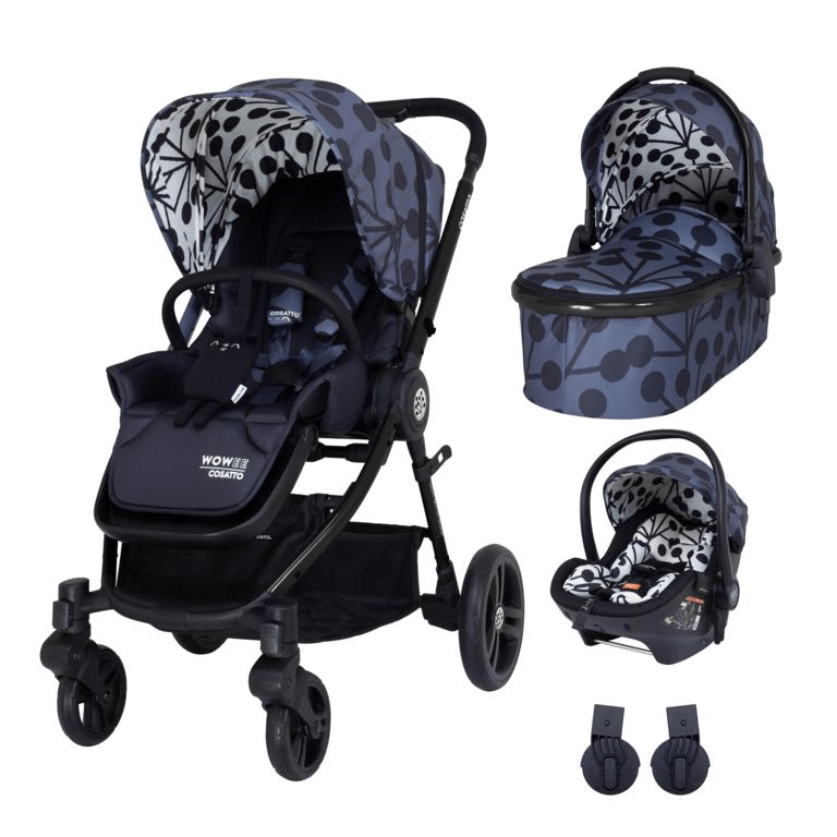 Cosatto Wowee Premium Travel System Bundle (Incl. RAC i-Size 0+ Car Seat) - Lunaria