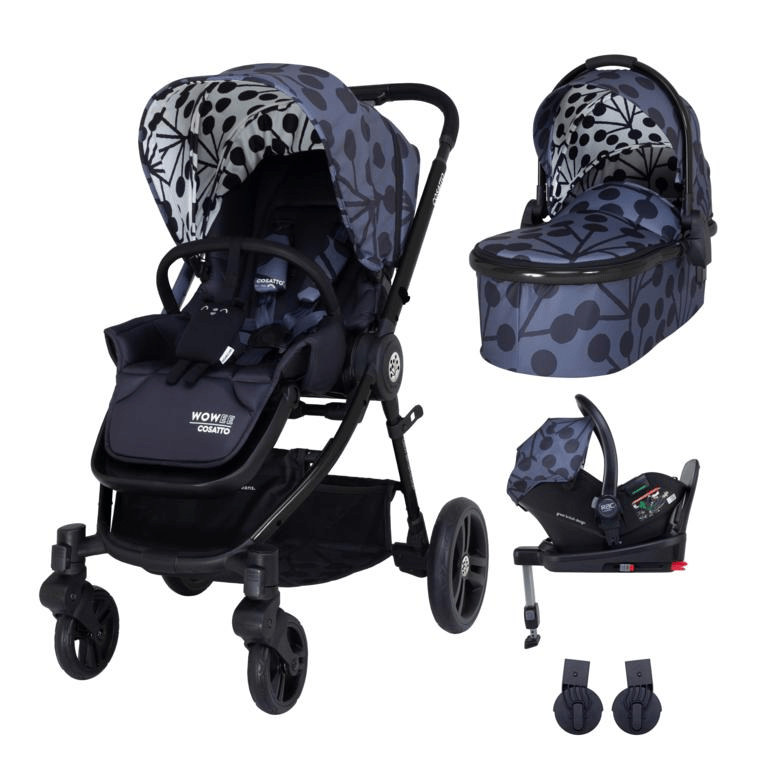 Cosatto Wowee i-Size Travel System Bundle (Incl. i-Size 0+ Car Seat & Base) - Lunaria