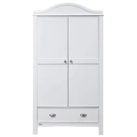 East Coast Toulouse Double Wardrobe - White