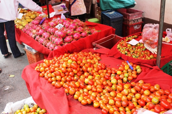 Fruit stalls in Chiang Mai