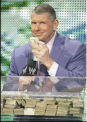 Vince Mcmahon Money Gif : vince, mcmahon, money, MAJOR, SWERVE, PLANNED, BOUND, GLORY, Gimmick, Network