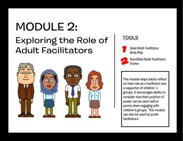 Module 2: Exploring the Role of Adult Facilitators