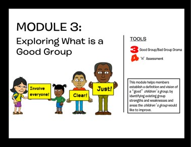 Module 3: Exploring What is a Good Group