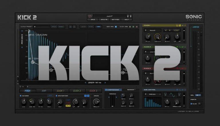 Sonic Academy Kick 2 Crack 2 v1.1.4 Win 2021 Download