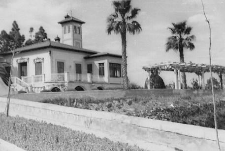 Villa Amparo en tiempos de Antonio Machado. Fuente «Machado en Rocafort»