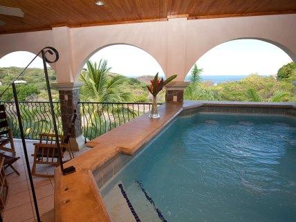 Villa las Olas - Covered pool