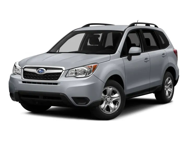 2001 Forester Operaters Manual