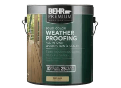 Behr Waterproofing Stain And Sealer Dry Time