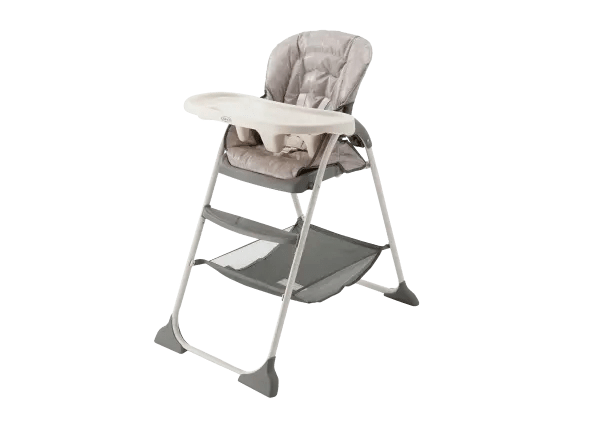 graco slim fold high chair ab swivel snacker summary information from consumer reports