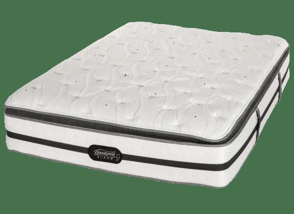 beautyrest black pillow top mattress