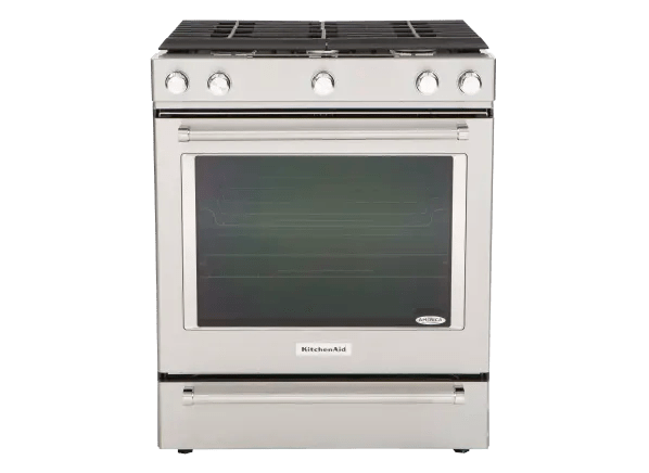 kitchen aid gas cooktop cabin cabinets kitchenaid ksgg700ess range summary information from consumer reports