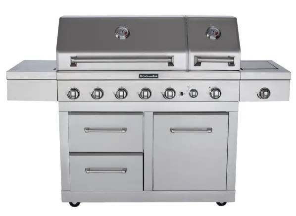 costco kitchen aid unassembled cabinets kitchenaid 720 0856v grill summary information from