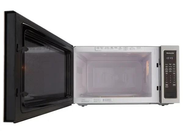 kitchenaid kmcs3022gss microwave oven