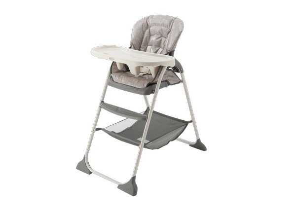 graco slim fold high chair accent swivel chairs snacker - consumer reports