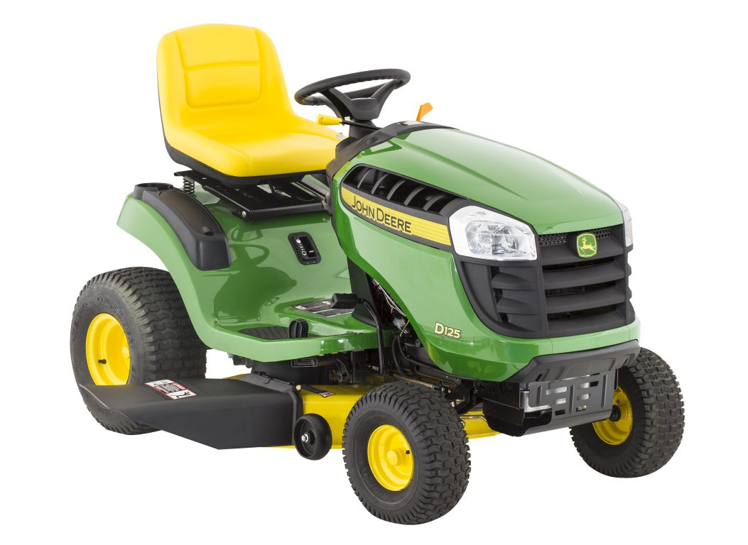 riding lawn mowers in canada wiring diagram for chinese quad john deere d125 42 mower and tractor consumer reports