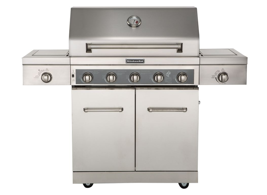 kitchen aid gas grill slim storage kitchenaid 720 0893 consumer reports