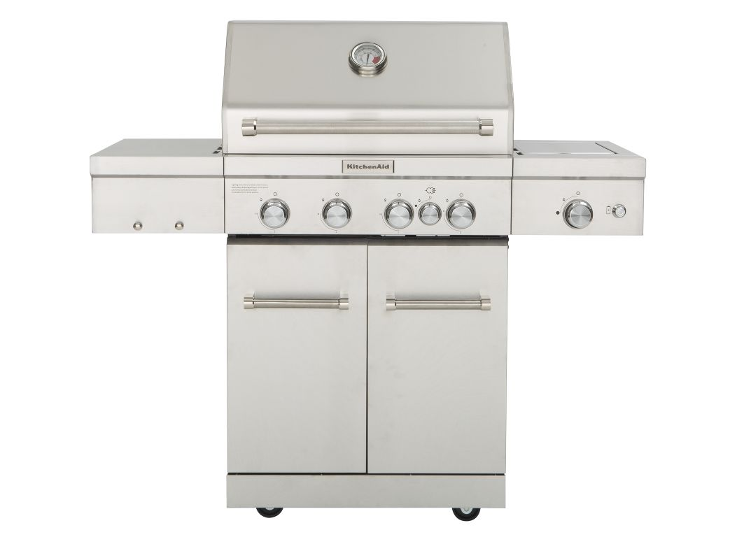 kitchen aid gas grill cabinet price kitchenaid 720 0954 home depot specs consumer