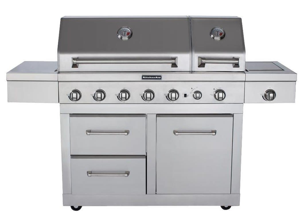 kitchen aid gas grill stoves at lowes kitchenaid 720 0856v costco consumer reports