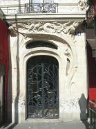 Paris doorway by Alfred Wago - Art Nouveau