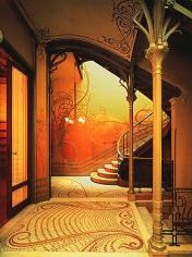 Tassel House by Victor Horta - Art Nouveau