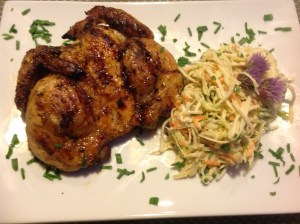 Moroccan Spiced Cornish Hens
